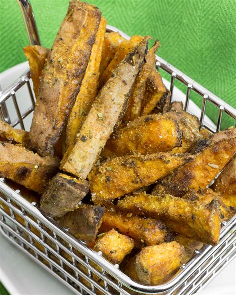 how to make fries out of potatoes super crispy baked cajun sweet potato fries omnomally