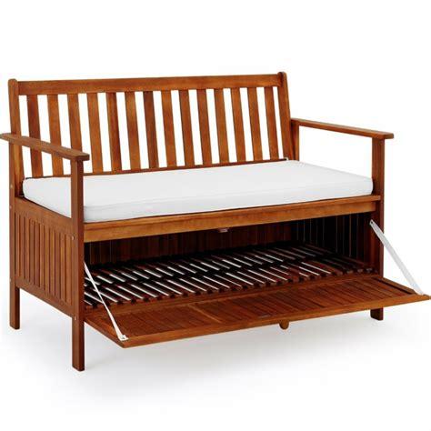Gartenbank Mit Stauraum Als Praktisches Möbelstück Auch