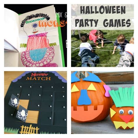 simple ideas for your class make and takes 826   Halloween Party Game Ideas