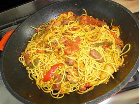 recette de cuisine en espagnol recette de spaghettis à l 39 espagnol