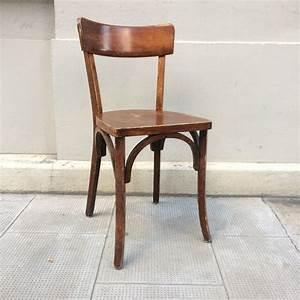 Chaise Bistrot Vintage : ancienne chaise bistrot baumann datant des ann es 50 ~ Teatrodelosmanantiales.com Idées de Décoration