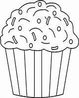 Cupcake Coloring Sprinkles Chocolate Cupcakes Da Pages Muffin Ice Cream Colorare Immagini Birthday Di Icecream Disegni Netart Cakes Risultati Per sketch template