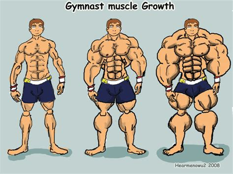 Gymnast Muscle Growth By Hearmenowu2 On Deviantart