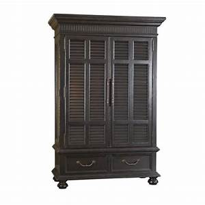 tommy bahama home kingstown trafalgar armoire in tamarind With kitchen cabinets lowes with tommy bahama wall art