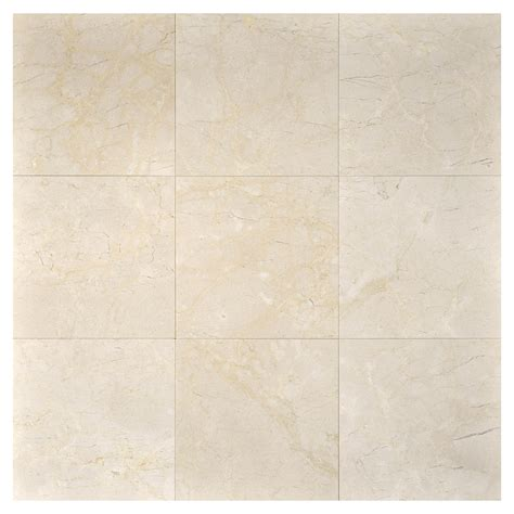 crema marfil honed marble tile