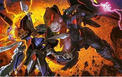 Gundam Master Asia Domon Burning Kasshu Vs
