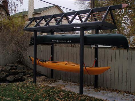 kayak storage rack my canoe kayak storage rack my kayaking buddies