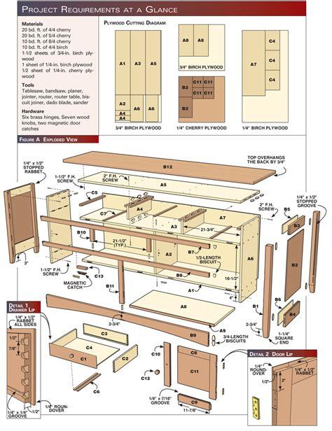 shaker sideboard popular woodworking magazine