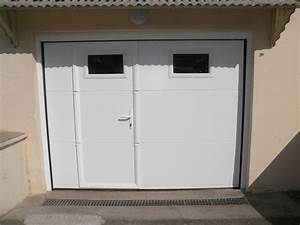 Portes de garages for Porte de garage sectionnelle avec porte de garage 2 vantaux pvc