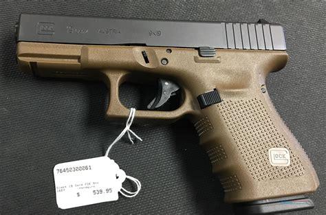 Glock 19 Gen 4 Fde Frame 9mm Nib No Cc Fees For Sale