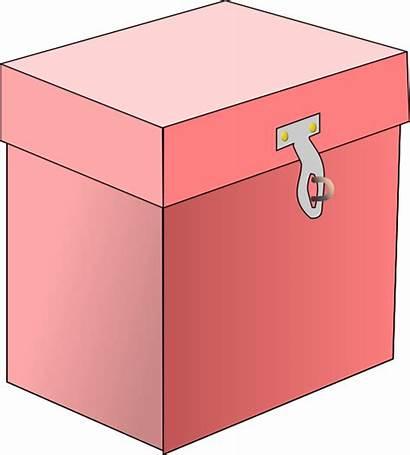 Box Clip Pink Clipart Cliparts Svg Vector