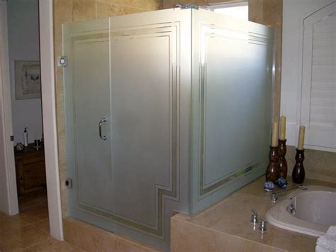 window pane shower door frosted glass shower panels for privacy or decoration in