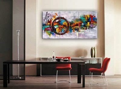 70+ living room ideas that will leave you wanting more. Santin Art-Circle Of Magic Modern Canvas Art Wall Decor Abstract Oil Painting Contemporary Art ...