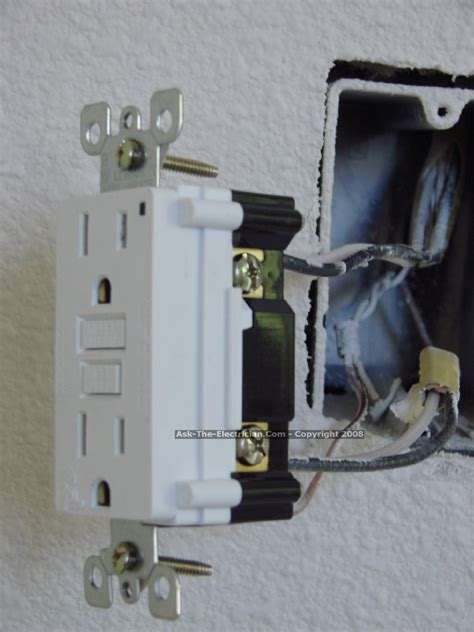 gfci outlet wiring methods
