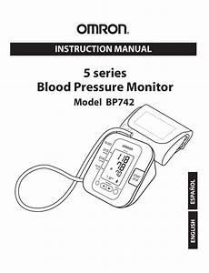 Omron Healthcare Bp742 User Manual