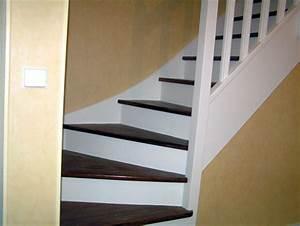 photo escalier peint meilleures images d39inspiration With peindre les contremarches d un escalier en bois 17 escalier peint 16 idees peinture escalier bricobistro
