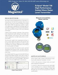 Eclipse Model 706 High Performance Guided Wave Radar Level