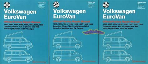 book repair manual 1999 volkswagen eurovan windshield wipe control eurovan shop manual service repair book volkswagen bentley vw workshop 92 99 set ebay