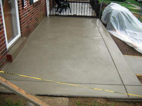 concrete patio concrete paving contractor talk