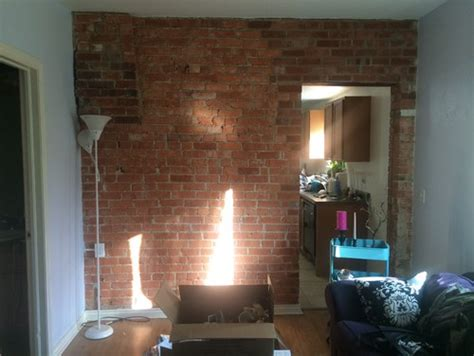 help picking paint color to go with exposed brick wall