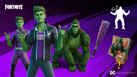 Teen Titans' Beast Boy Is Coming To Fortnite - GameSpot