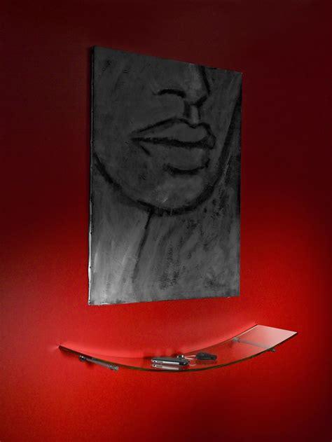 mensole vetro arco set mensole vetro curvato trasparente 80 x 20 cm