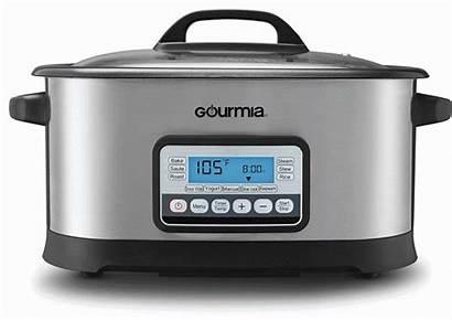 Gourmia Cooker Multi Nonstick Tempered 6l Lid