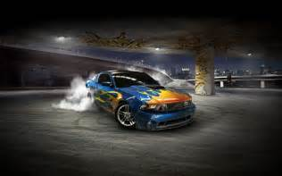 3D Backgrounds with Cars