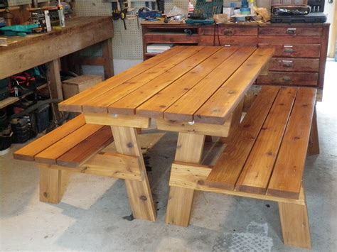 picnic table bench plans white convertible picnic benches diy projects