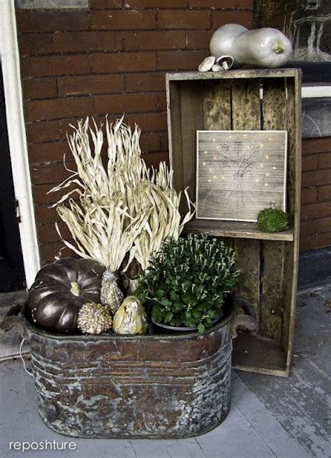 shabby chic fall decorating ideas pin by lori cbell on autumn pinterest