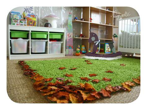 stickers chambre bébé fille pas cher decoration chambre foret visuel 5