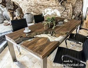 Pendelleuchte Esstisch Holz : designtisch esstisch aus recyceltem holz ~ Watch28wear.com Haus und Dekorationen
