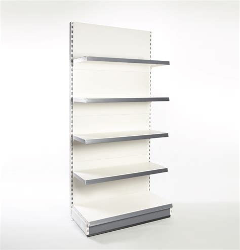 Buy Single Sided Wall Bays In Stock Nabco Retail Shelving