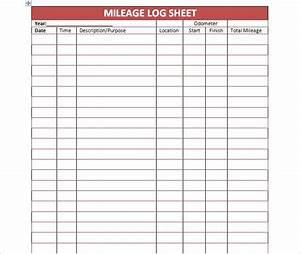 Mileage Log Irs Mileage Log Template Google Sheets