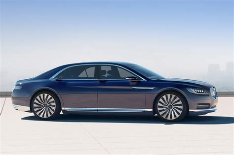 2017 Lincoln Continental Concept by Lincoln Continental Concept 2015 авто фото