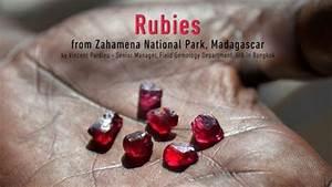 Rubies from Zahamena National Park, Madagascar