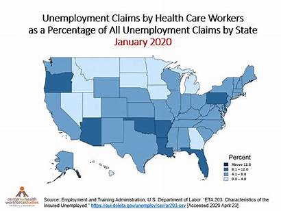 State Unemployment Health Care Workers Claims Washington