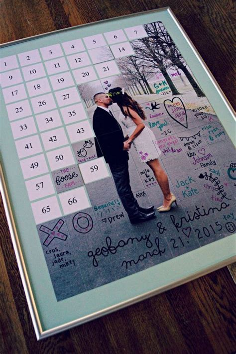 popular demand  photo tile puzzle guestbook