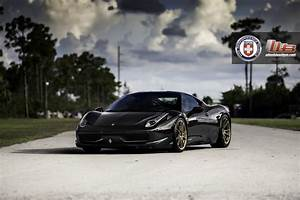 Ferrari 458 Italia Lights Keep It Classy Miami Titanium On Black Ferrari 458