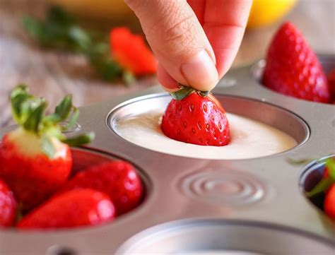 frozen yogurt fruit pops recipe  images recipes