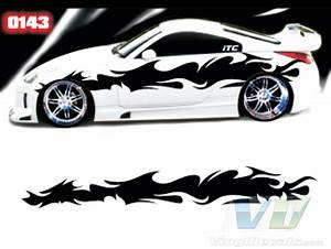 tribal style 143 vinyl vehicle graphic kit With vinyl lettering vehicle graphics