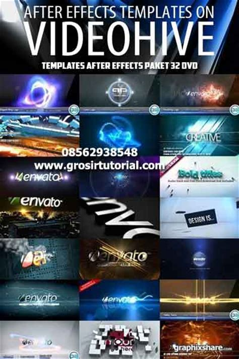 videohive after effects templates videohive after effect template grosir tutorial