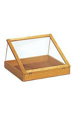 Countertop Display Cases - pine portable 24inch wood countertop display cases