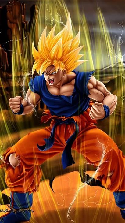 Goku Dragon Ball Iphone Wallpapers Ssj Gt
