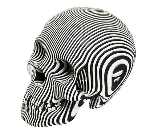 build   laser cut cardboard human skulls