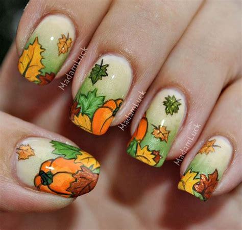 autumn nail designs madamlucks journey autumn nail