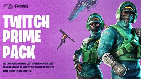 fortnite twitch prime pack  youtube