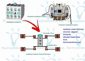 What Is Is Auxiliary Contacts And It U0026 39 S Working In