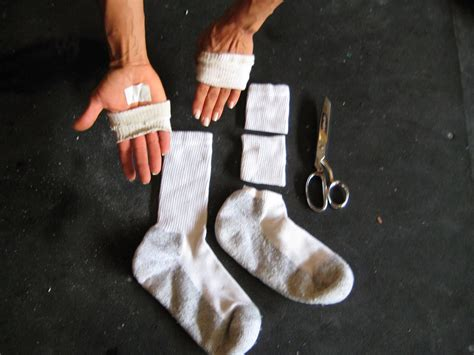 sock gloves hand sleeves care thought without sleeve tracy reifkind training food callus came