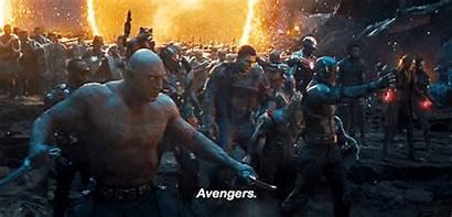 Main Avengers Endgame Character Assemble